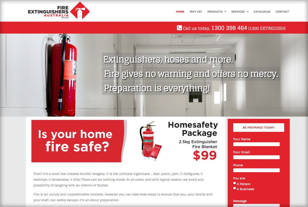 FIRE EXTINGUISHERS AUSTRALIA